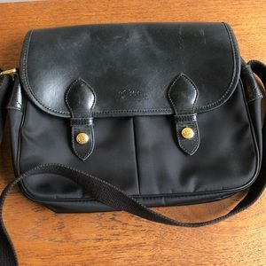 Vintage Longchamp Paris Messenger Bag